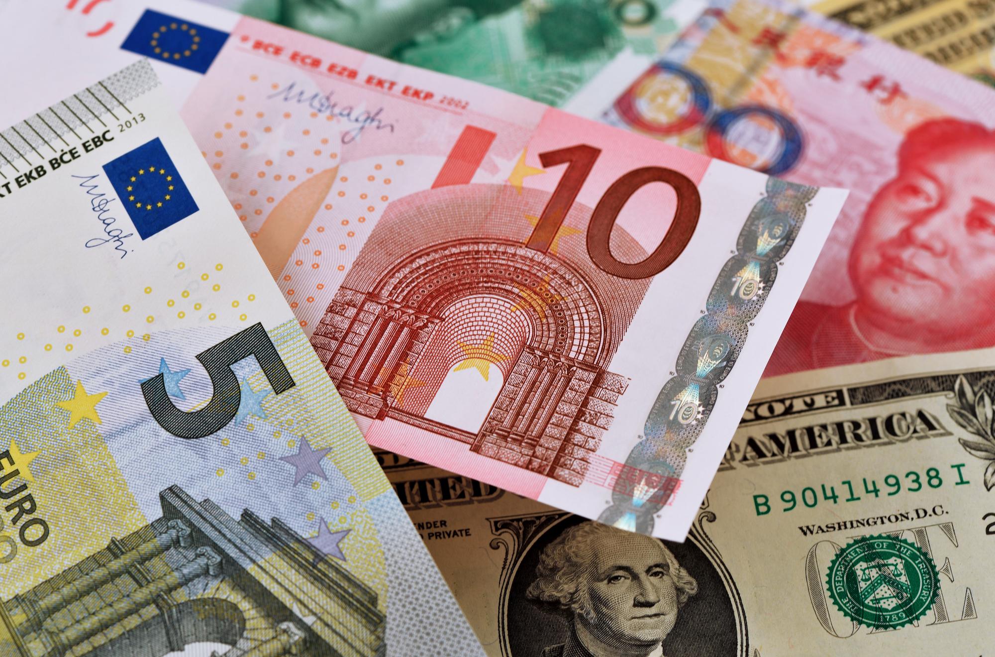 外貨建て預金は円建て預金よりも金利が高い