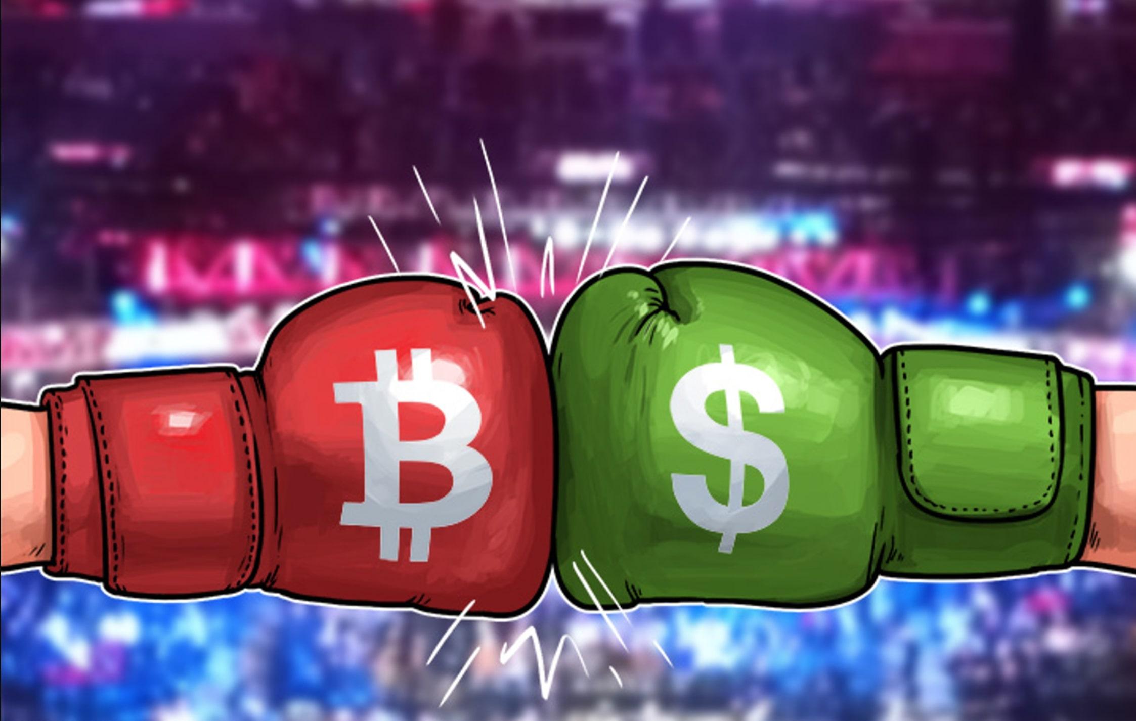 Bitcoin vs Dólar: ¿Cuál es más útil para los comerciantes?