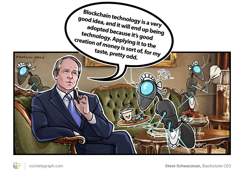 Steve Schwarzman, Blackstone CEO