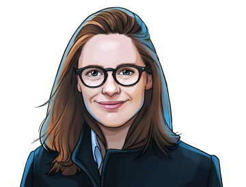 Kathleen Breitman & Co-founder of Tezos & poster`