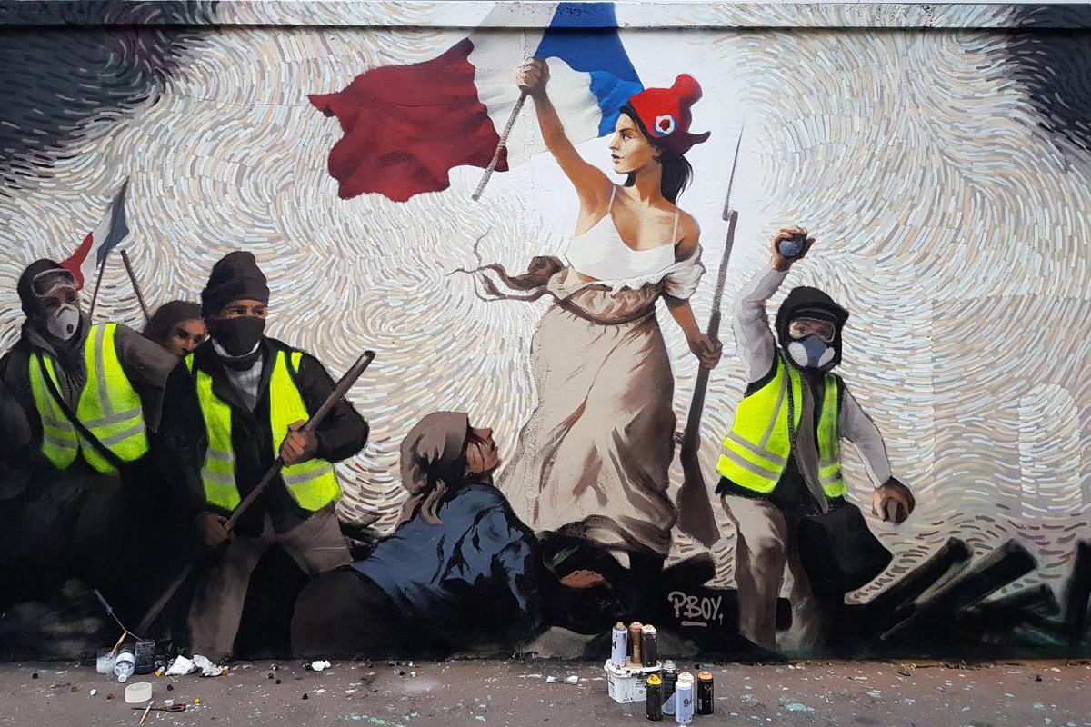 """Murales di Pascal """"Pboy"""" Boyart"""