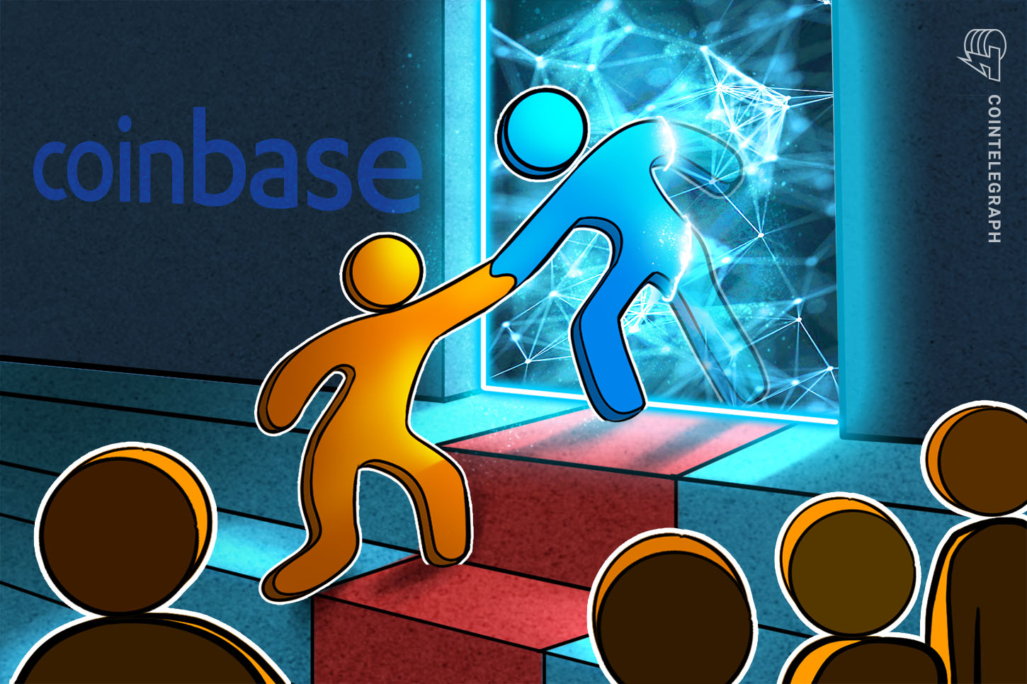 how many people use coinbase