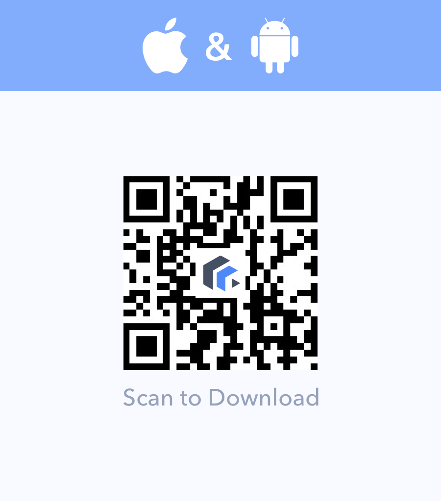 Scan to download LibraVista Wallet for iOS and Android