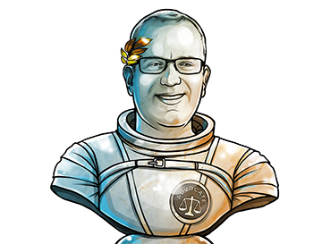 Brendan Eich & Co-founder and CEO of Brave & poster`