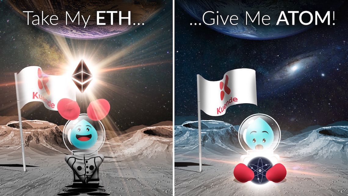 ETH to atom
