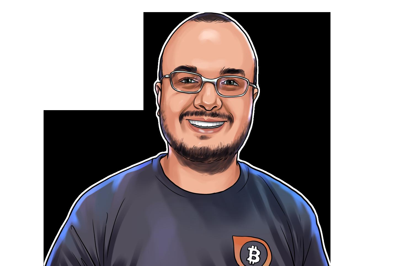 Rodrigo Souza & CEO da BlinkTrade & poster`
