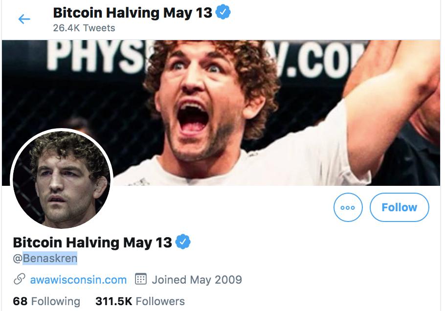 Ben Askren Bitcoin