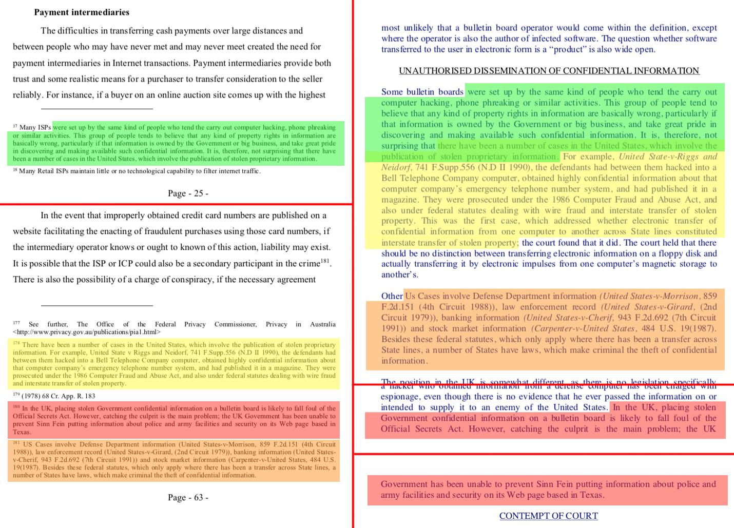 Izquierda: Disertación de Wright en 2008; derecha: El trabajo de Pearson de 1996