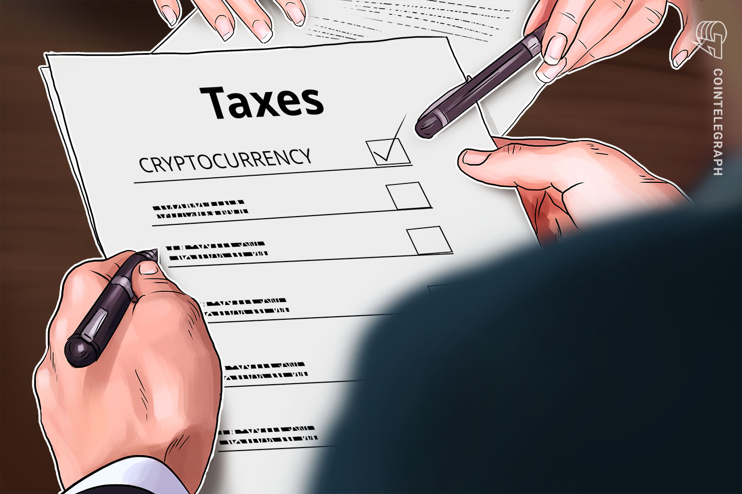 how to report cryptocurrency on taxes irs