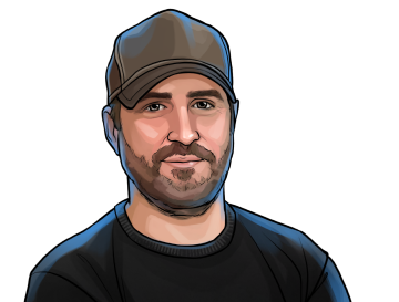 """Peter McCormack & Host of the podcasts """"What Bitcoin Did"""" and """"Defiance"""" & poster`"""
