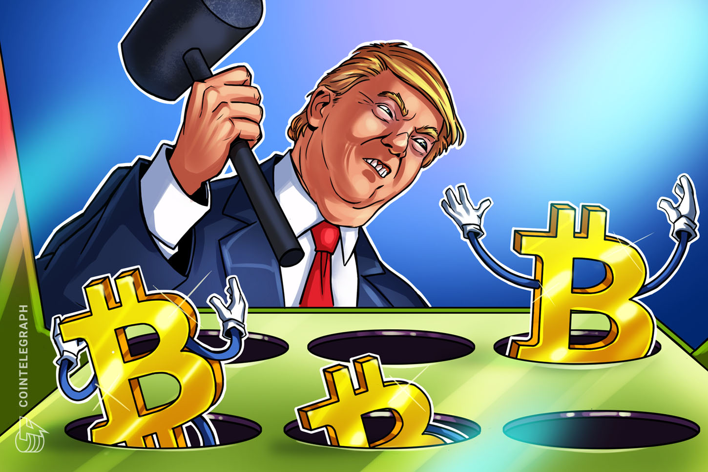 does trump like cryptocurrency