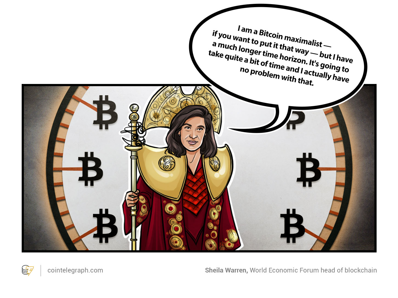 Sheila Warren, head of blockchain at the World Economic Forum