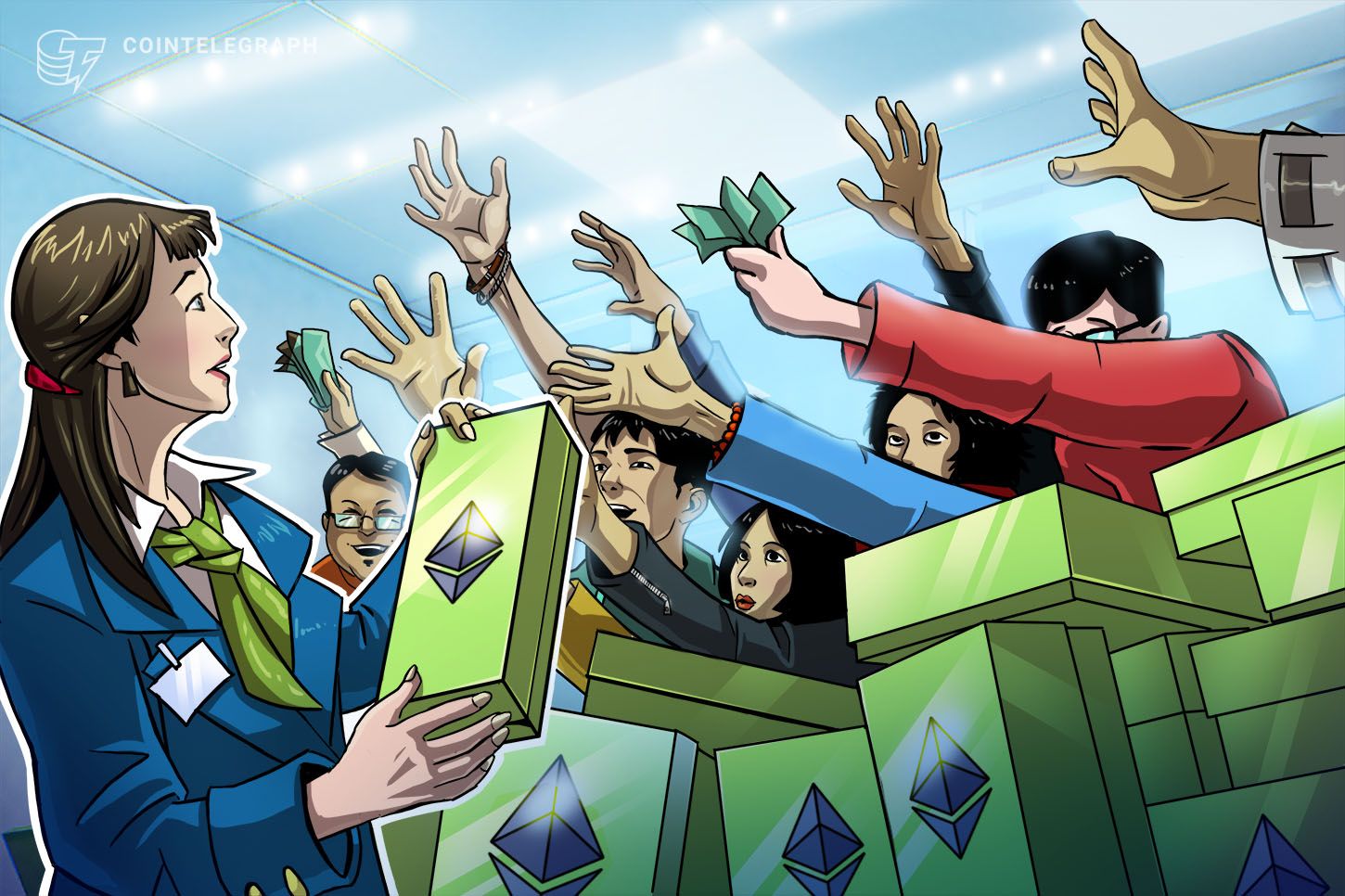 Huge Ethereum buy wall sends ETH to a 19-month high against Bitcoin - Cointelegraph