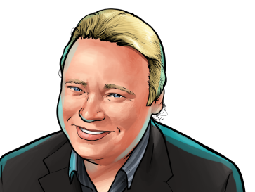 Brian Behlendorf & Executive Director at Hyperledger & poster`