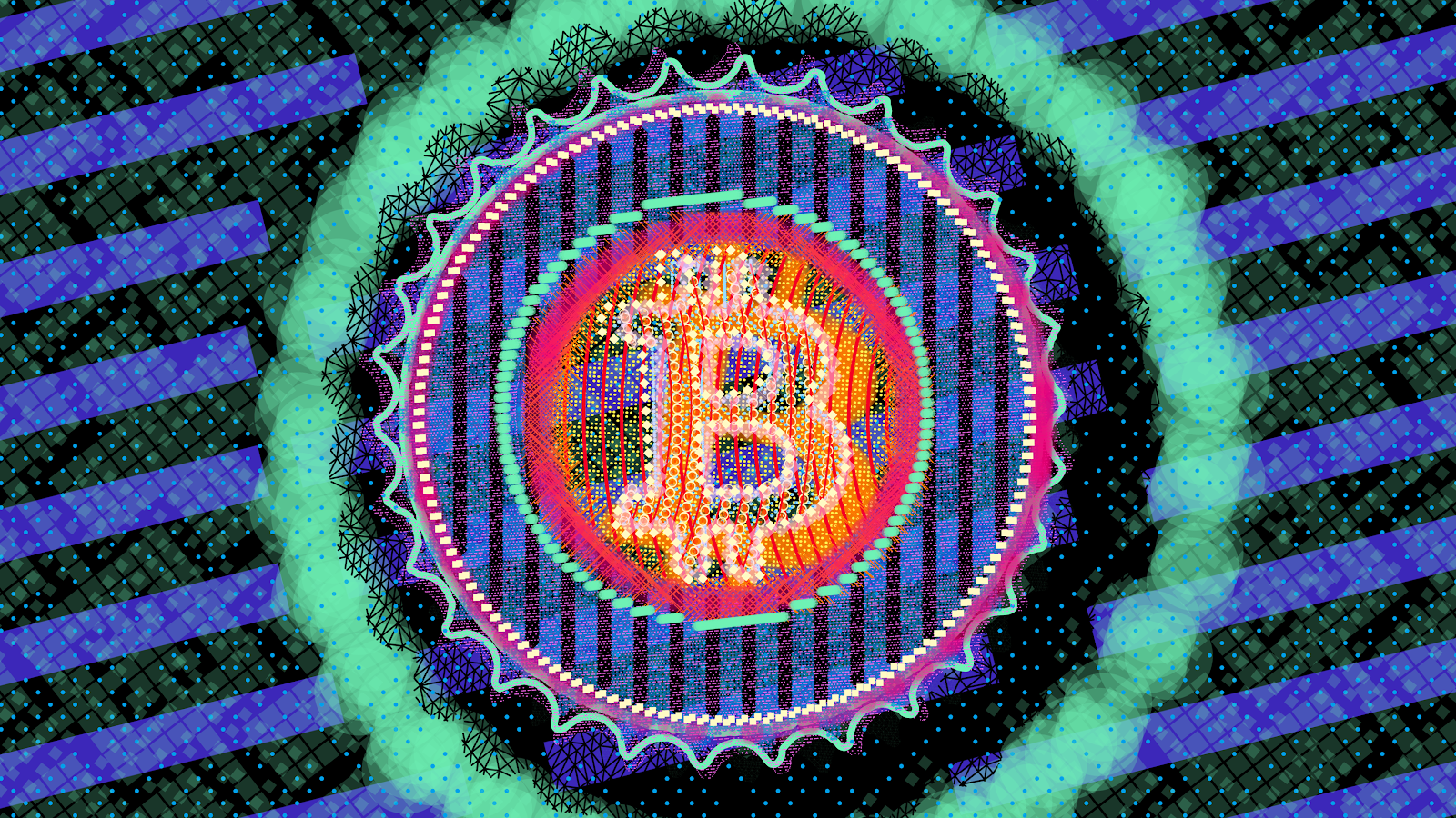Algorithmic Crypto Art Changes Appearance To Reflect Bitcoin Volatility