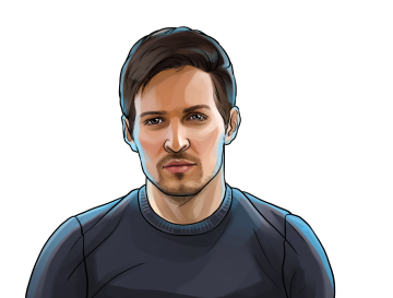 Pavel Durov & Founder and CEO of Telegram