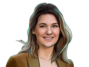 Meltem Demirors & Chief Strategy Officer at CoinShares & poster`