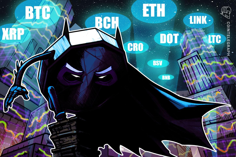 Price analysis 9/18: BTC, ETH, XRP, DOT, BCH, BNB, LINK, CRO, LTC, BSV