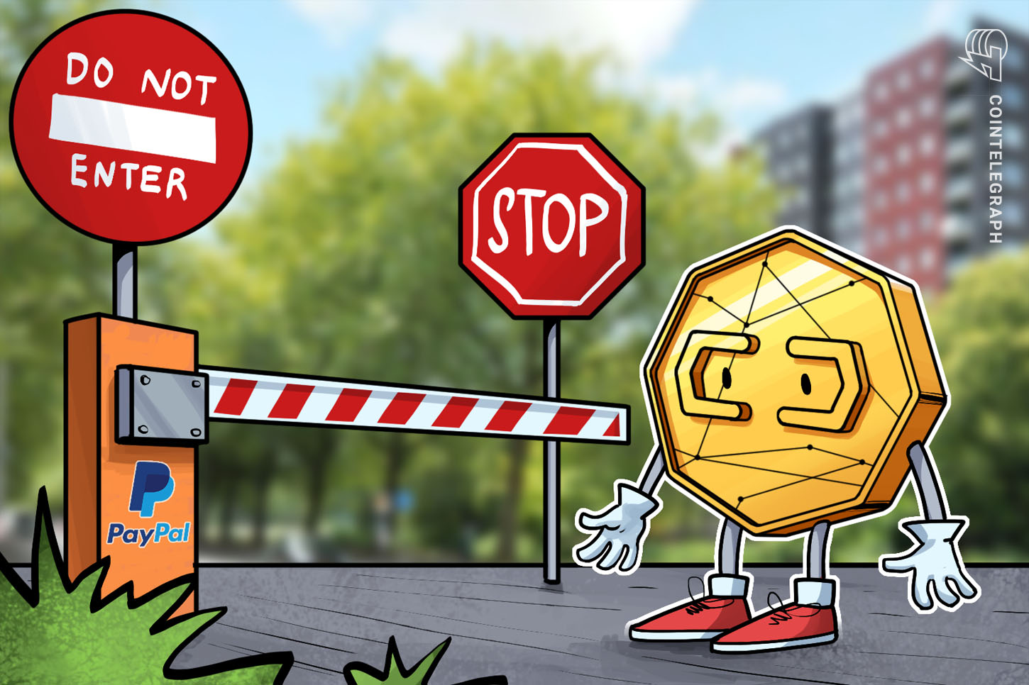 'Dangerous' Tokenized Staunch Estate Platform Hits New Heights After Paypal Ban thumbnail