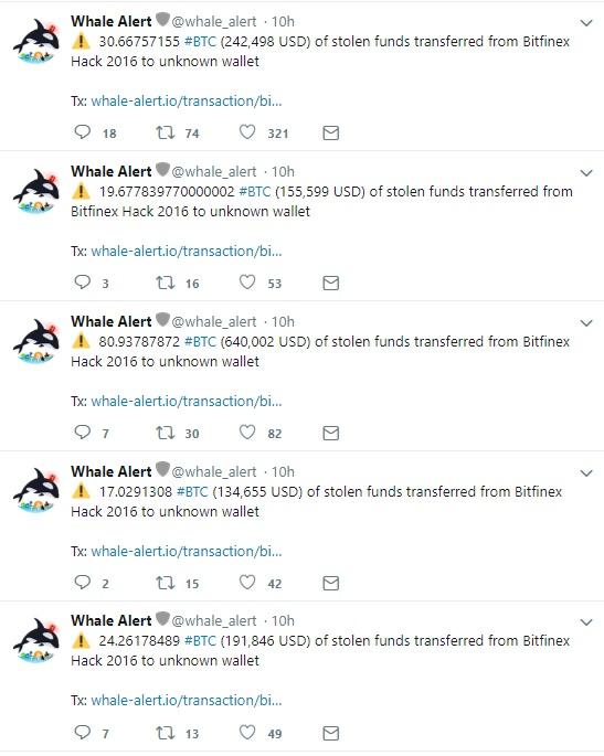 Bitfinex hack new twist