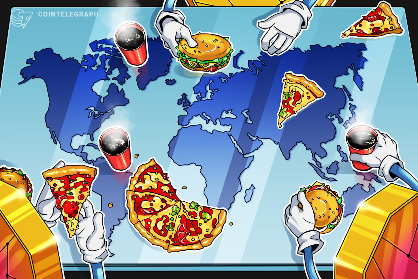 Cointelegraph Bitcoin Accepted Here Slippers Cryptocurrency Blockchain