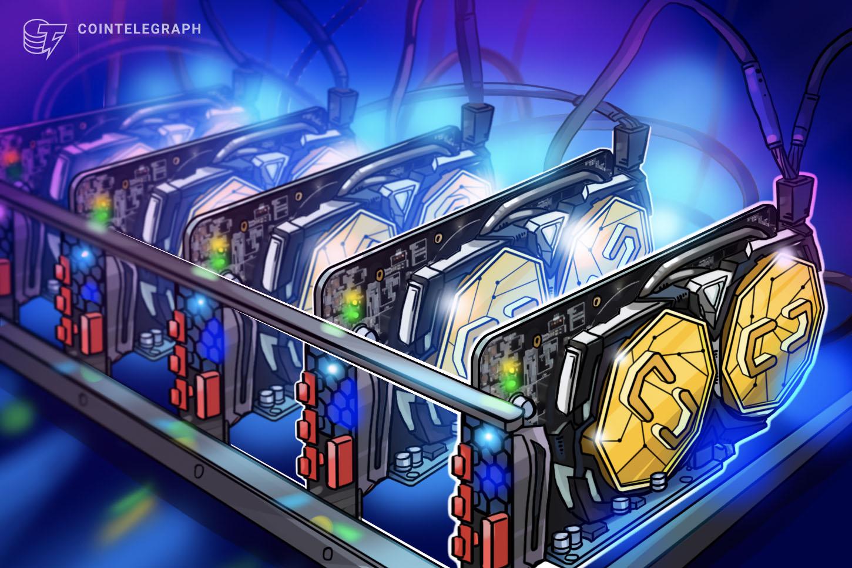 cryptocurrency mining machine storage