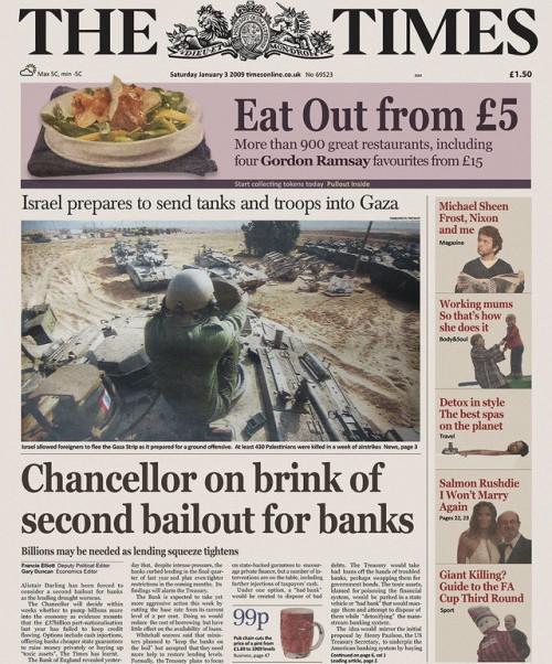 Times del 3 settembre 2009