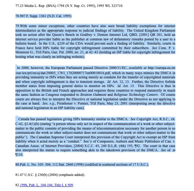 Mann & Belzley's 2005 paper