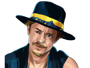 Brock Pierce & Chairman of the Board at Bitcoin Foundation and Co-Founder & Board Member at EOS Alliance & poster`