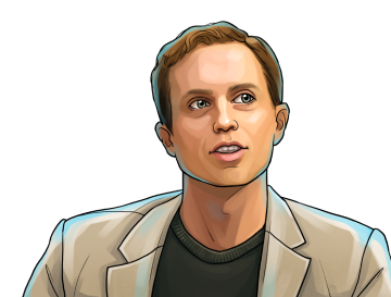 Erik Vorhees & Founder and CEO of Shapeshift & poster`