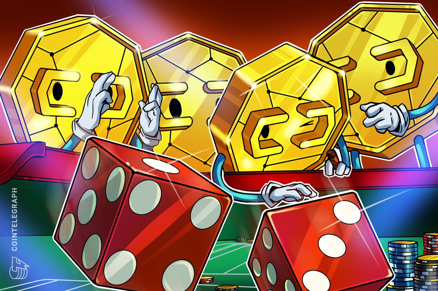 how to make a cryptocurrency dice game