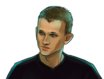 Vitalik Buterin & Co-founder of Ethereum & poster`