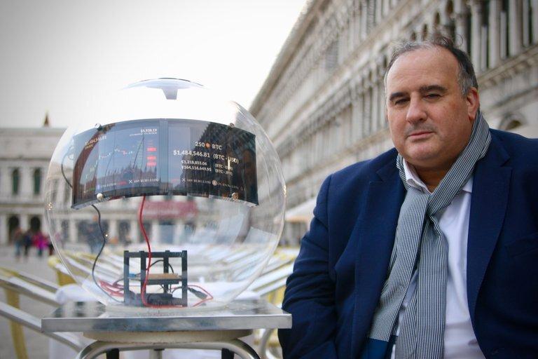 Alberto Echegaray y su obra en Venecia