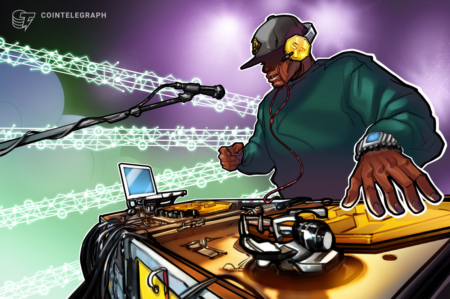 Report: Blockchain to Increase Royalty Streams to Artists in the Digital Music Industry