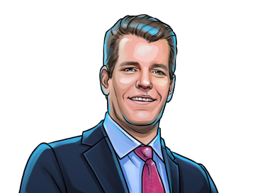 Cameron Winklevoss  & Co-founder and president of Gemini, principal of Winklevoss Capital & poster`