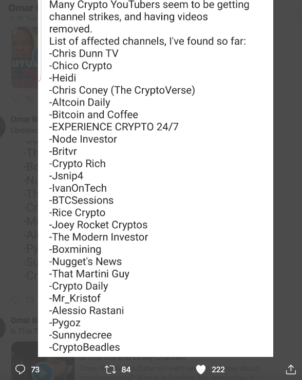 best youtube for cryptocurrency reddit