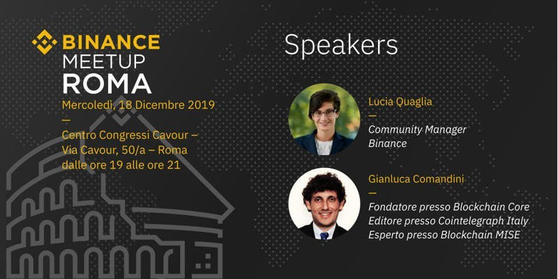 Binance Meetup Roma