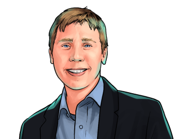 Barry Silbert & Founder and CEO of Grayscale Investments and Digital Currency Group & poster`