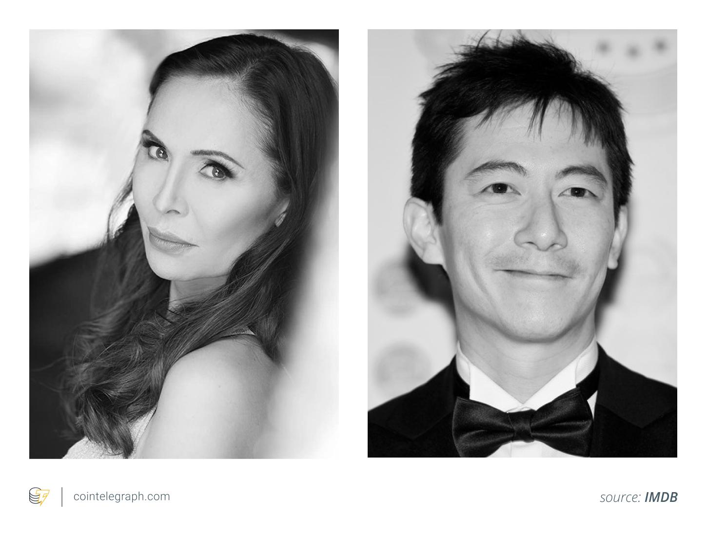 Actors, Talisa Garcia and Akie Kotabe, who portray Satoshi's love interest and Satoshi. Source: IMDB.
