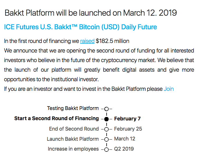 Alleged scam Bakkt website, snapshot on Feb. 7