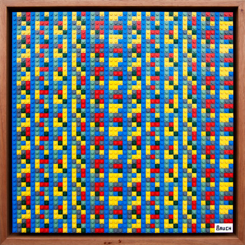 Andy Bauch, quadro contenente Bitcoin