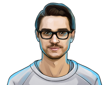 Dominik Schiener & Co-founder of the Iota Foundation & poster`