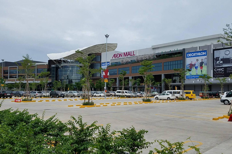 イオンのカンボジア2号店「イオンモール セン ソック シティ」