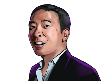 Andrew Yang & 2020 U.S. presidential candidate  & poster`