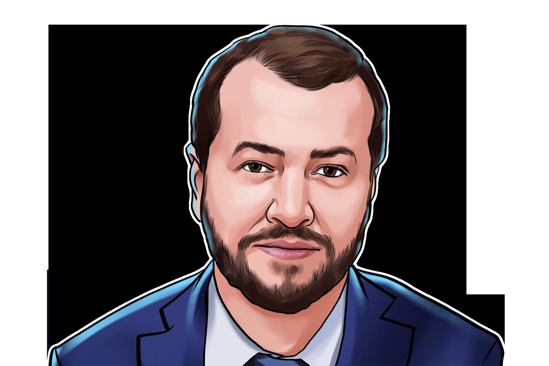 Fabrício Tota & Diretor do Mercado Bitcoin & poster`