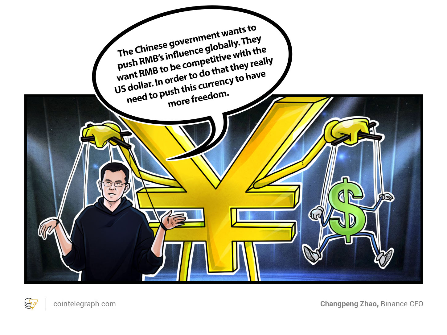 Changpeng Zhao, Binance CEO