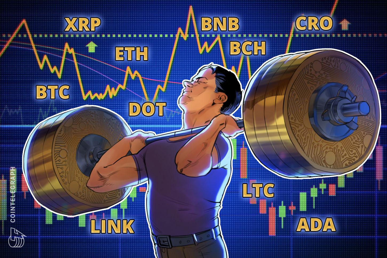 Price analysis 10/12: BTC, ETH, XRP, BCH, BNB, LINK, DOT, ADA, LTC, CRO