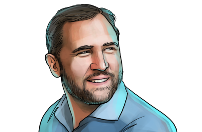 Brad Garlinghouse & CEO of Ripple  & poster`