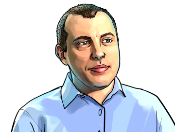 "Andreas Antonopoulos & Speaker, host of the podcast ""Let's Talk Bitcoin""  & poster`"