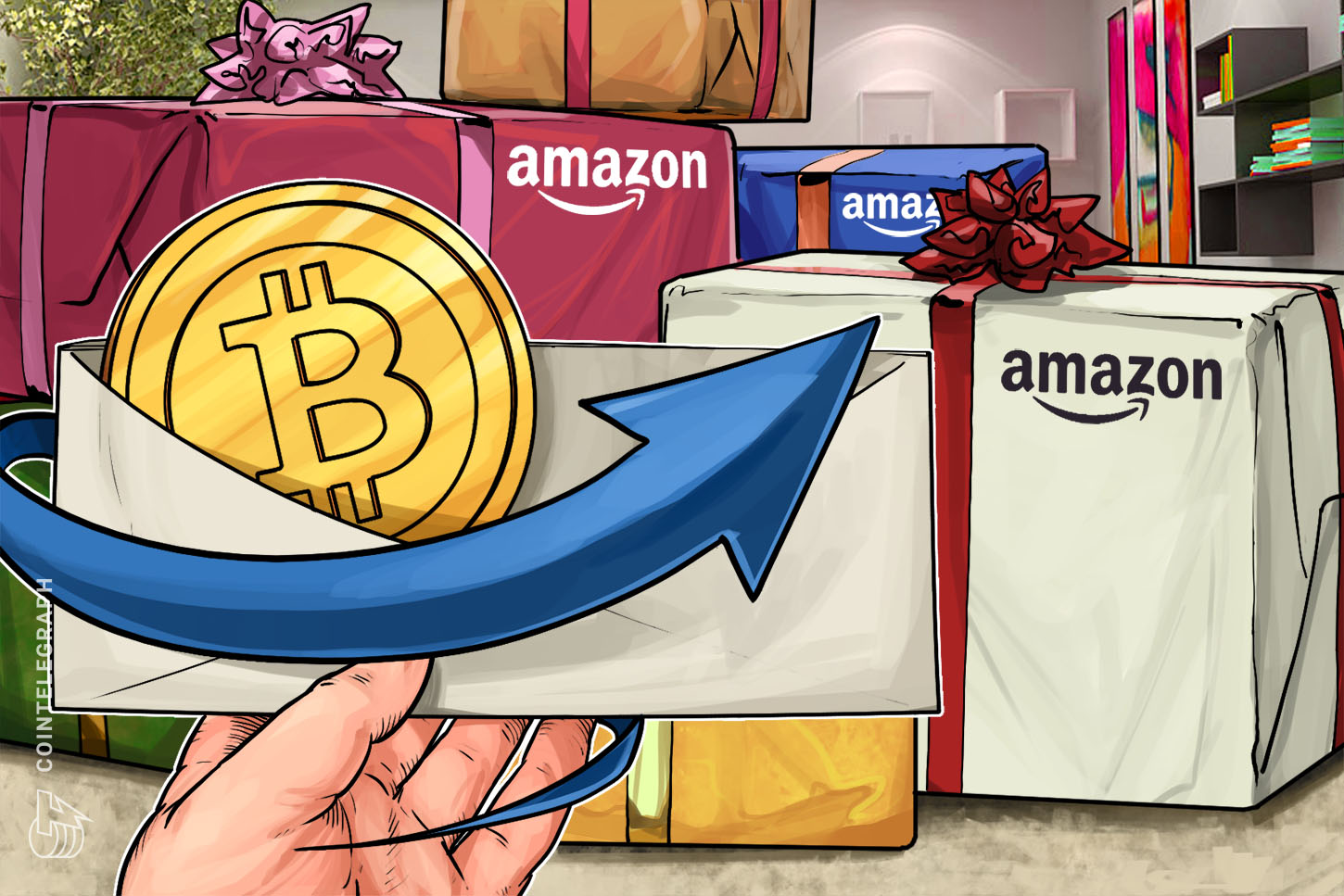 amazon accepting cryptocurrency 2021